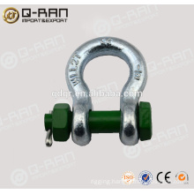Anchor Shackle /Rigging Hardware Hot Dip Galvanized Drop Forged Anchor Shackle