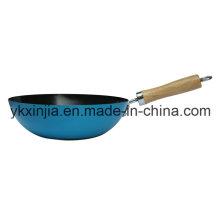 Кухонная посуда из цветной углеродистой стали Mini Wok Cookware