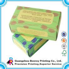 Mini caja plegables por encargo del embalaje del papel para colorear