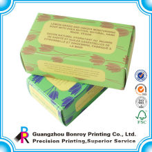 Custom Made Unique Folded Coloring Paper Packing Mini Box
