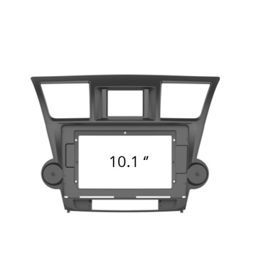 Panel de marco Facia para Toyota Highlander 2009-13 Radio Headunit