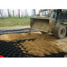 Geocrível Geocell para proteção da areia de encosta