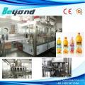 Línea de producción de la máquina de llenado de la botella del jugo de las frutas Llenado caliente de la botella del animal doméstico
