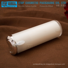 YB-S80 80ml Presse Lotion Pumpe breite-Anwendung für Kosmetik Perle weiße Kegel Lotion Flasche