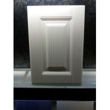 Высокое качество чистого белого ПВХ кухонные двери шкафа плоский