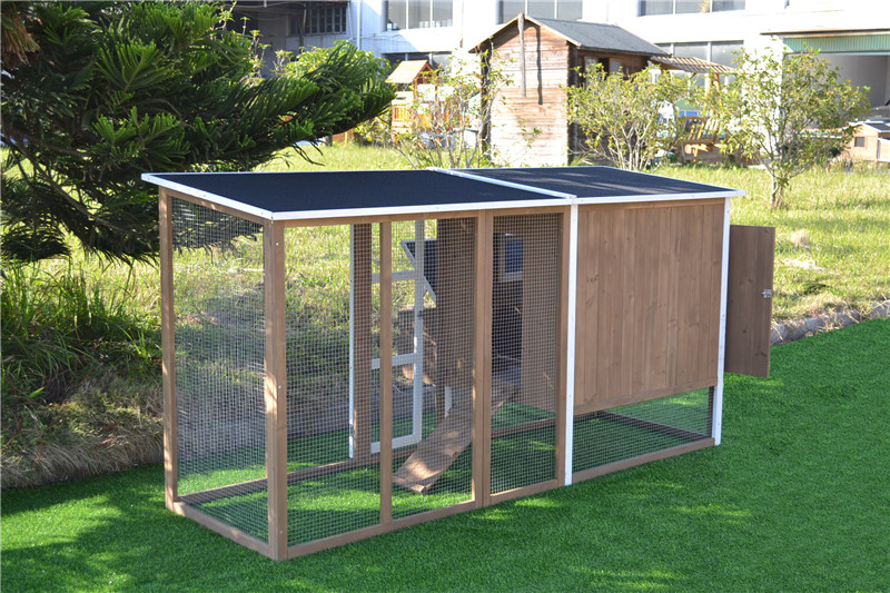 simple chicken house
