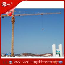 Guindaste de torre 20t para venda, máquina de construção de guindaste de torre