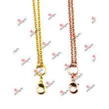 Мода Rolo ссылка цепи ожерелья ювелирные изделия для девочек подарки (JCN50829)