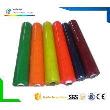 Película de PVC blanda transparente o de color para decoración y envasado