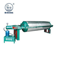 Filter press for paraffin