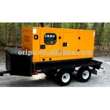 Generador diesel de remolque con servicio de mantenimiento en todo el mundo
