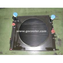 Алюминиевый охладитель с вентилятором для погрузчика Baumag