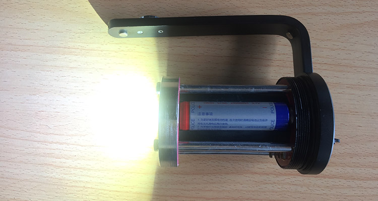 Lighting explosion-proof flashlight