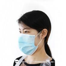 Medical Supplies disposable 3 ply non woven face mask