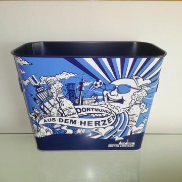 Rechthoek Metal Tin Ice Bucket