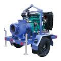 Трейлер Смонтирован Дизельный Двигатель Водяного Насоса