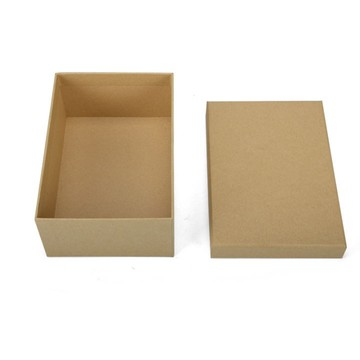 Caja de regalo de papel Kraft hat storage