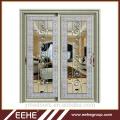 Living room wardrobe aluminium glass door designs/aluminium profile sliding door