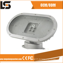Kundenspezifische Druckguss 60W Solar Outdoor LED Lampengehäuse