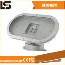 Personalizado morra carcaça exterior solar da lâmpada do diodo emissor de luz 60W da carcaça