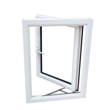 Fenêtre en PVC Fenêtre de vitre UPVC en Chine