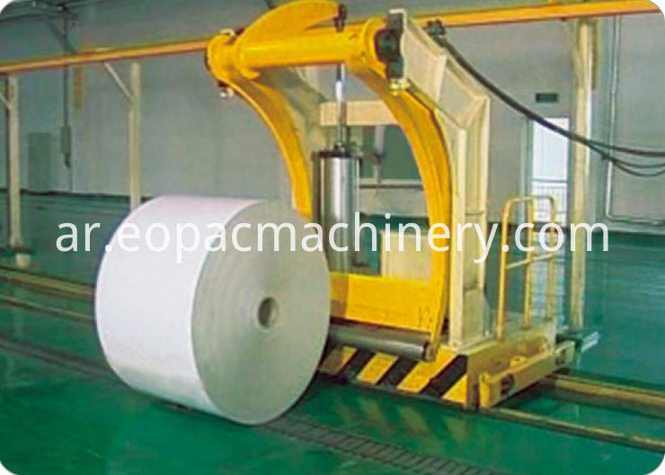 Paper Roll Upender Machine