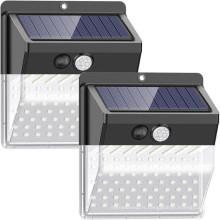 Veilleuse à capteur de mouvement de sécurité solaire