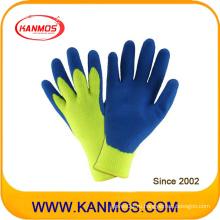 Рабочие перчатки с защитой от вредного излучения, обработанные латексом (52202al)