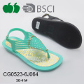 Popular High Quality Latest Fashion Women Plastic Sandals