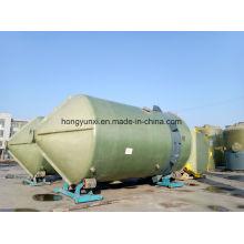 Tratamento de água e águas residuais usados tanques FRP