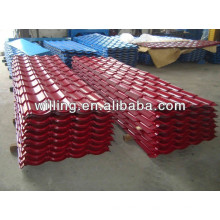 Concrete roof tile price/ Color/Galvanized corrugated roofing sheet/Metal tile sheet