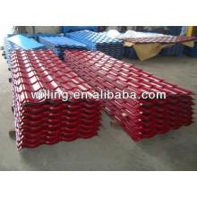 tile sheets/corrugated steel tile sheet