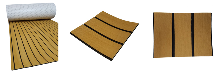 EVA Faux Teak Sheet