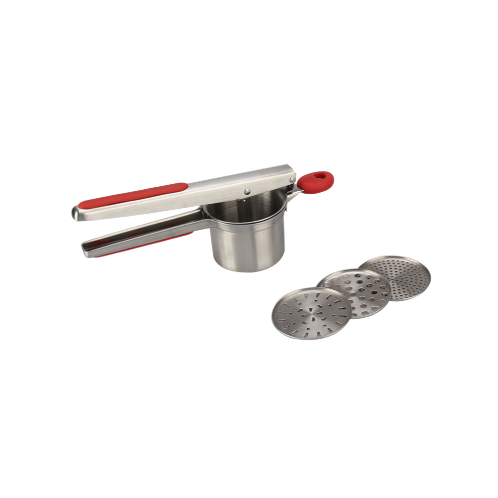 Food Press With Ergonomic Comfort Grip