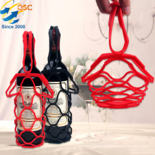 New Design Creative Multifunctional Foldable Place Mat Picnic Wine Silicone Basket