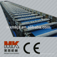 steel corrugated roofing forming machine