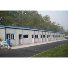 Bureau temporaire de structure en acier sur le site (KXD-pH1382)