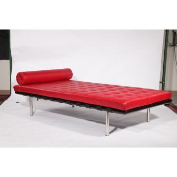 modern classic Barcelona Leather Bed