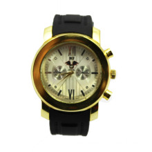 2016 Wholesale Couple Quartz Silicone Watch