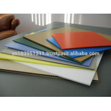 Highly elastic and durable Polypropylene hollow sheet