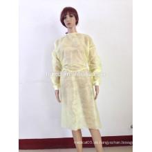 OEM Non-Woven / PP / SMS Medizinische Kleidung Sterilisierte Einweg-Chirurgische Kleid