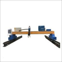 Cortadora de perfiles de llama y plasma de placa de acero para línea de producción de estructuras de acero