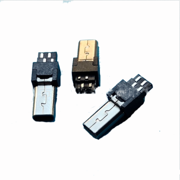 CONECTOR MINI USB 8P ENCHUFE SOLDADO