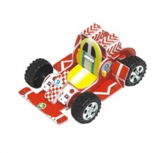 Pull Back Go Karts 3D Puzzle