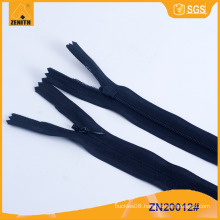 Wholesale 3# Invisible Zipper with Polyester Tape ZN20012
