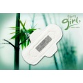 Super absorbent bamboo sanitary pads pad