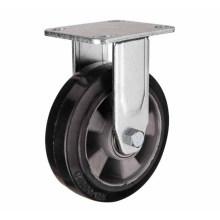 H17 Тяжелый тип двойного шарикового подшипника Фиксированный тип резины на алюминиевом сердечнике колеса