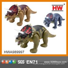 New Item battery operated walking plastic dinosaur toys