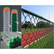 Алюминиевый ПВХ оцинкованный защитный сетчатый забор