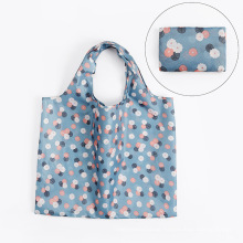 INITI High Quality Polyester Washable Folding Reusable Shopping Bags